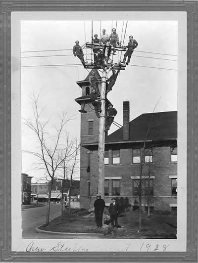 electricity history photo